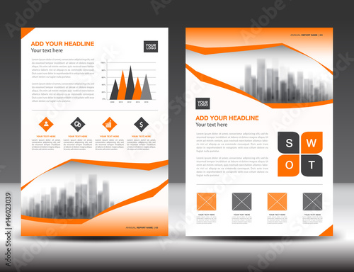 Business brochure flyer template orange cover design annual report business brochure flyer template orange cover design annual report newsletter ads spiritdancerdesigns Image collections