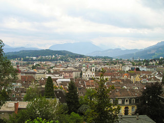 Cityscapes of Lucerne, Switzerland.