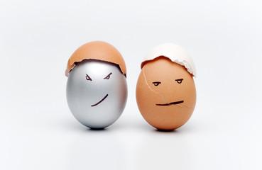 Разукрашенные яйца