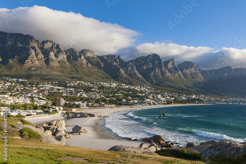 View Of Camps Bay And 12 Apostles Cape Town Western Cape