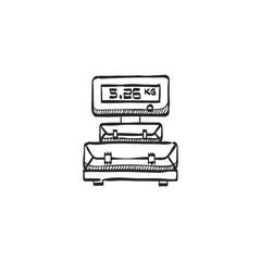 Sketch icon - Logistic scale