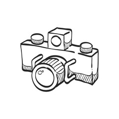 Sketch icon - Panorama camera