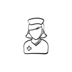 Sketch icon - Nurse