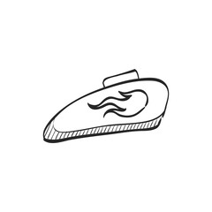 Sketch icon - Motorcycle gas tank