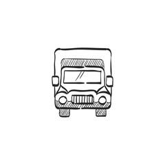 Sketch icon - Truck