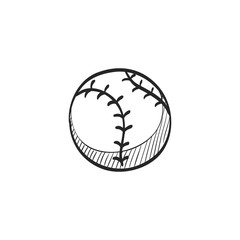 Sketch icon - Baseball