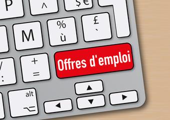Offres d'emploi - emploi - embauche - travail - web - chômage - CDI - CDD