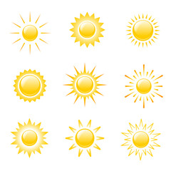 Icons sun.