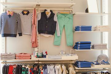 Wall Mural - Children clothing shop