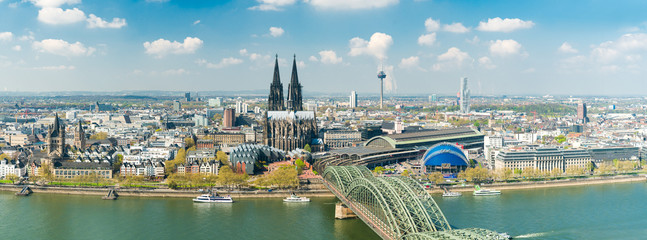 Köln Cologne Spring Stock Photo