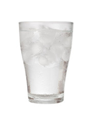 Glass of iced water