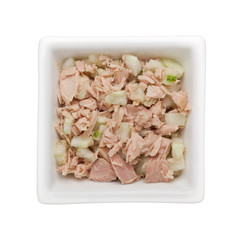 Tuna and cucumber