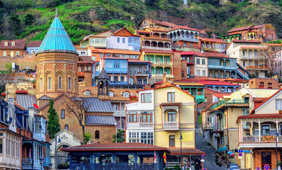 The Old Town of Tbilisi, Georgia
