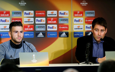 Football Soccer - RSC Anderlecht news conference - UEFA Europa League quarterfinal first leg