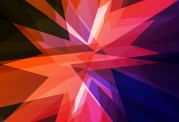 colour triangle Abstract background