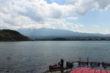 Mt.Fuji at Lake Kawaguchiko - Yamanash