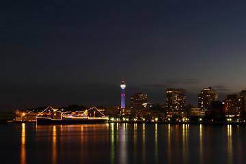 Japan skyline at Yokohama city