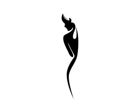 Body woman logo