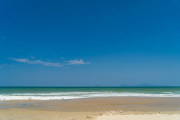 The beach in Hoi An Vietnam