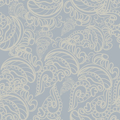 vector Seamless abstract pattern, hand drawn texture for Wedding, Bridal, Valentine s day or Birthday Invitations. Fabric or paper print,