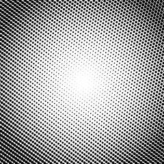 Gradient monochrome background. Halftone effect