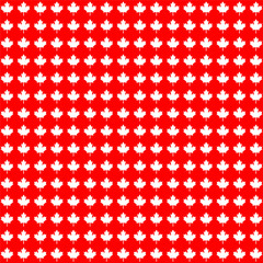 red white Canada maple leaf background
