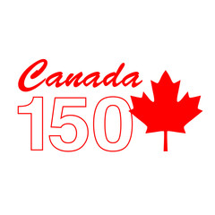 Canada 150 Birthday graphic