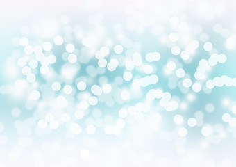 Abstract bokeh background. Festive defocused lights.