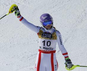 Alpine Skiing - FIS Alpine Skiing World Championships St. Moritz -Women's Slalom