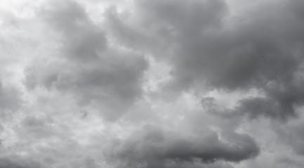 Overcast cloudy sky.