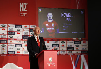 British & Irish Lions tour manager John Spencer as Jack Nowell is announced in the squad