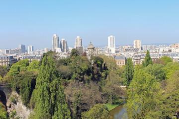 Paris, parc des Buttes Chaumont