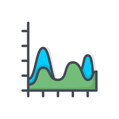 Chart Graphic Colored Icon