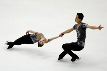 Figure Skating - Asian Winter Games - Pairs Short Program