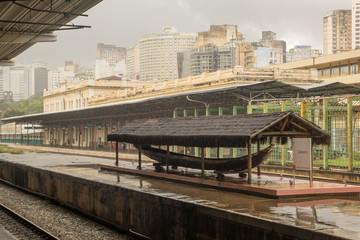 Estação de Trem central de Belo Horizonte Minas Gerais BRasil
