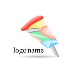 Vector logo for web design