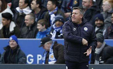 Leicester City caretaker manager Craig Shakespeare