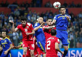 Bosnia and Herzegovina v Gibraltar - 2018 World Cup