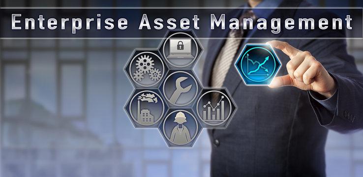 Consultant Presenting Enterprise Asset Management