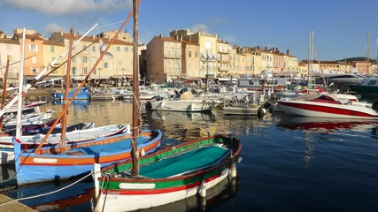 Saint-Tropez, port de plaisance (France)