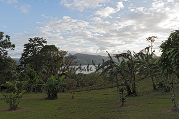 Landscape above the Lake Arenal at La Fortuna, Costa Rica