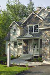 Entrance of a single family home