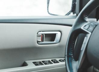 Inside of a Modern Car Door