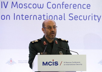 Iranian Defence Minister Dehghan attends the 4th Moscow Conference on International Security in Moscow