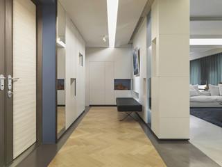 Hallway in modern home