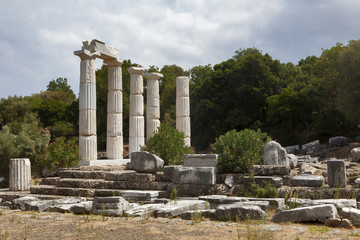 Sanctuary of the great gods, Palaeopolis, Samothrace, Greece