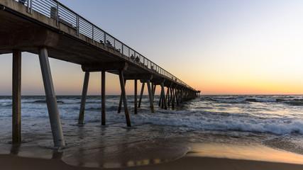 Hermosa Beach Pier at Sunset 4-19-17