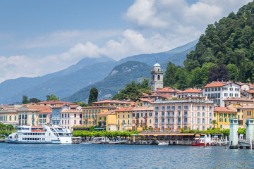 A view of Bellagio in Italy