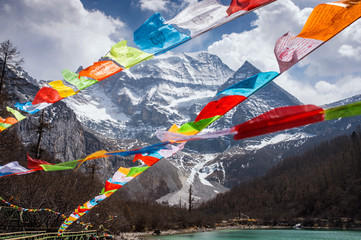 Snow mountian,Tibet