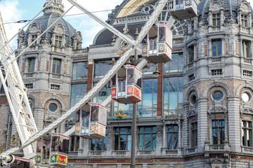 Exterior Antwerp Central Station